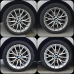 car wheels cleaning